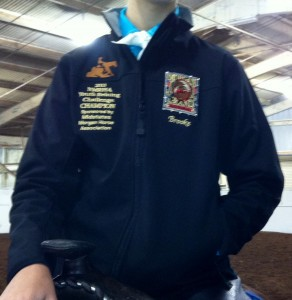 2013 Youth Reining Jacket