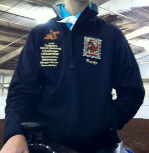 2013 Youth Reining Jacket